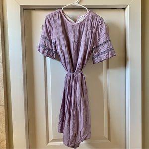 Aritzia Wilfred lavender dress